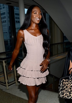 5 Style Lessons From Naomi Campbell's Fashion Month Wardrobe