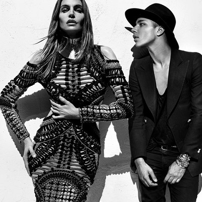 Cindy Crawford, Naomi Campbell, and Claudia Schiffer Join the Balmain Army