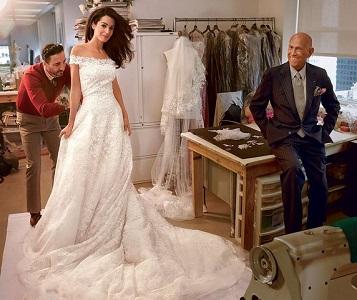 Amal Clooney's 6 Best Fashion Moments in Oscar de la Renta