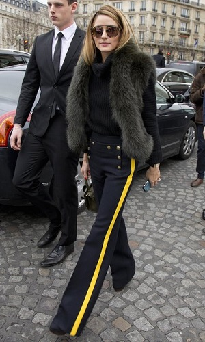 Olivia Palermo Shows That the Right Pant Can Be a Street Style Game-Changer