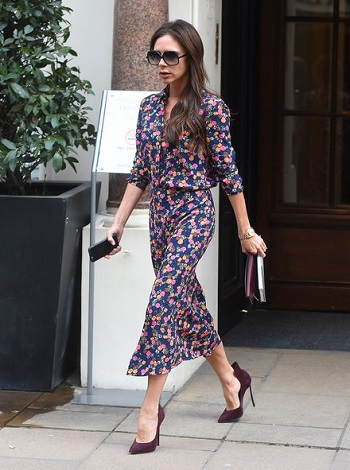 Victoria Beckham Has the Fashion Antidote to Winter Blues