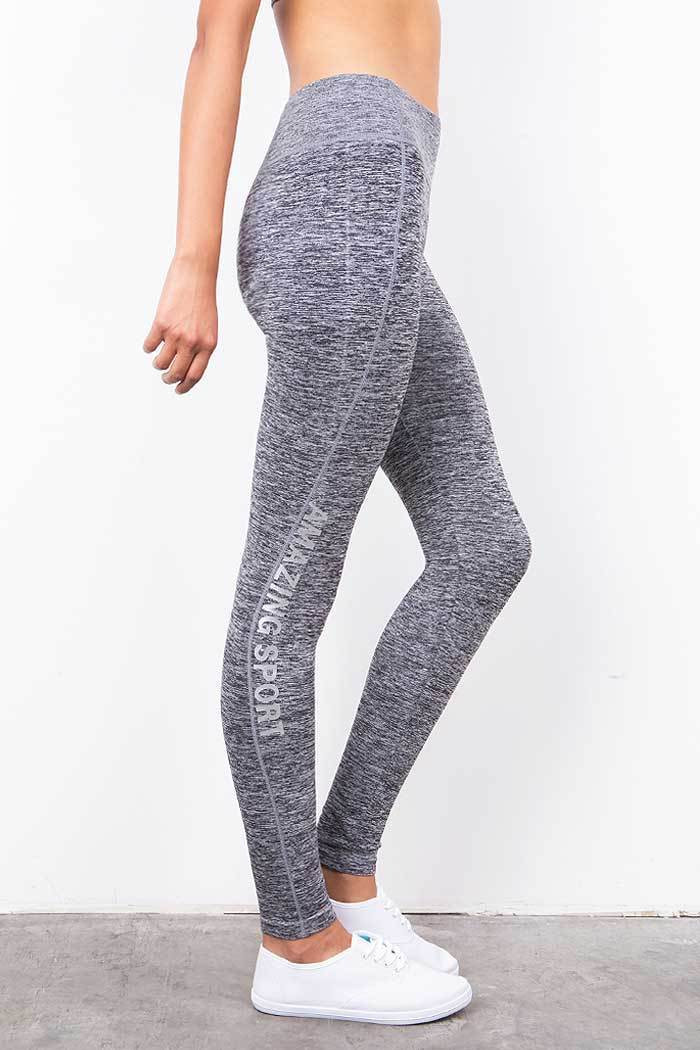 9da4d3e993 New Stretchy Mid Rise Workout Fitness Leggings Yoga Gym Active Long ...