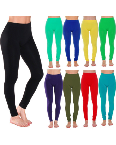 Women's Full Ankle Length and Fleece Lining Seamless Leggings-More Colors